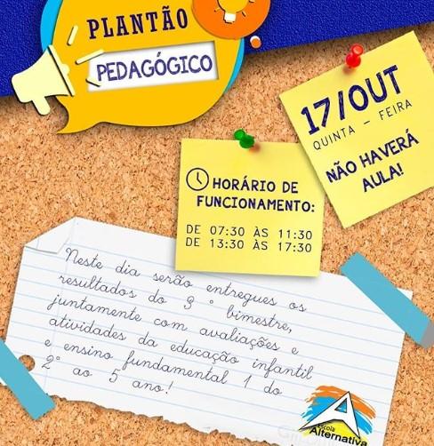 Plantão Pedagógico